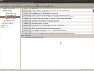 Linux RSS Reader mit Google Reader Unterstützung